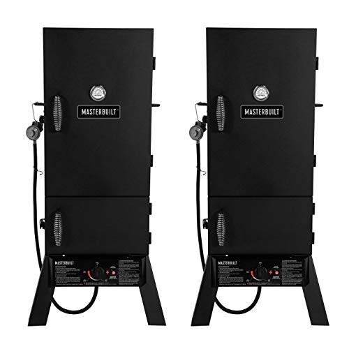 Masterbuilt 30-Inch Outdoor Vertical Propane Gas BBQ Meat Sm