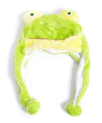 Plush Animal Winter Hat Froggy