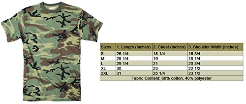 Crazy Dog TShirts - Mens Sugar Skull Cinco De Mayo Cool Hunting Camouflage T shirt (Camo) -S - herren - S