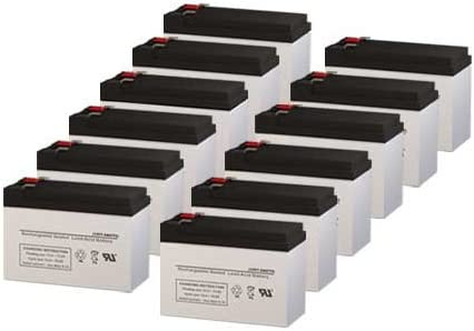para Systems Minuteman MM3000 CP//2 UPS Replacement Batteries Set of 12