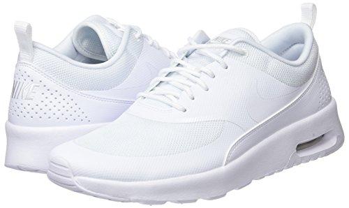 Zapatillas Air pure white Thea Max Gimnasia Gris Platinum Nike Para white De 110 Mujer CAtqPwnnvd