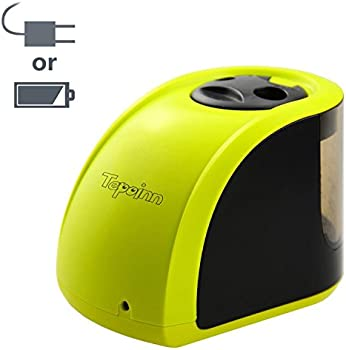 Tepoinn Manual Battery Operated Electric Pencil Sharpener