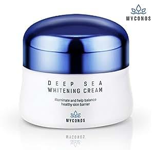 Myconos Night Cream Korean Whitening Anti Wrinkle Anti Aging Blemish Reducing Premium Skincare Formula