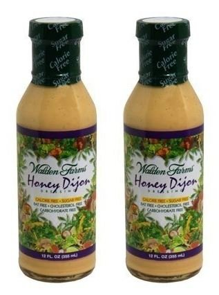 Walden Farms, Dressing Cf Honey Dijon - 12 Oz (Pack of 2)