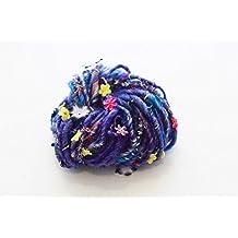 Knit Collage, Gypsy Garden, Cosmic Blue, 35 yards - 2 stitch per inch