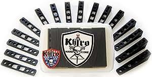 Khiro Rail Riser Kit Angles & Wedges Black