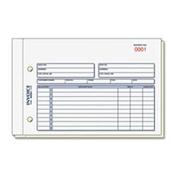 Rediform Rechnung Form 2 Teil Selbstdurchschreibend 5151 Cm X7