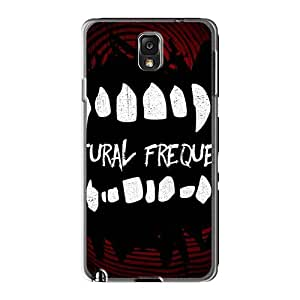 Anti-Scratch Hard Phone Covers For Samsung Galaxy Note3 With Support Your Personal Customized High-definition Mcfly Band Pattern JamieBratt