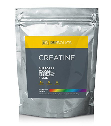 Purbolics Creatine | Supports Recovery & Strength | Trademark Creapure Formula | Micronized Creatine Monohydrate 5g | 50 Servings