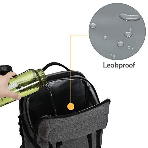Bolsa-de-Almuerzo-22L-Cooler-Backpack-24-Cans-Cooler-Bag-Gris miniatura 6