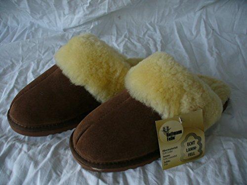 Braun Heitmann Lammfell Damen Pantoffeln 40 Größe 383 und Hausschuhe Herren qYrZfwRxY