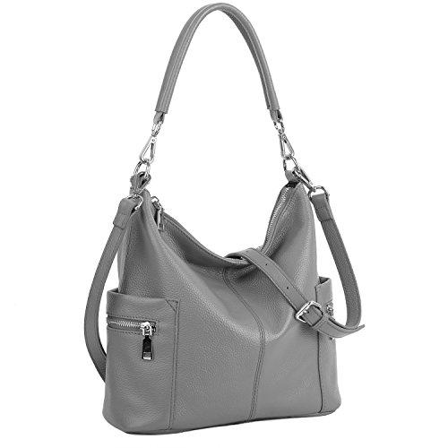 YALUXE Soft Leather Shoulder (Shopper Shoulder Handbags)