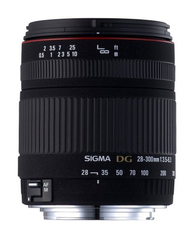 Sigma 28-300mm f/3.5-6.3 DG IF Macro Aspherical Lens for Canon SLR Cameras