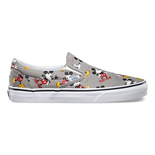 d76d434401ed5 Vans Disney Frost Gris Mickey Mouse Slip On Zapatillas  Amazon.es  Zapatos  y complementos