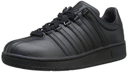 K-Swiss Women's Classic VN Fashion Sneaker, Black/Black, 7.5 M US