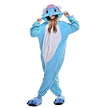 Newcosplay Unisex All in One Halloween Adult Onesie Pyjamas