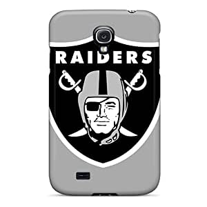 Hard Plastic Galaxy S4 Case Back Cover,hot Oakland Raiders Case At Perfect Diy