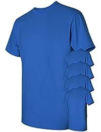 Men's Classic Heavy Cotton T-Shirt (Pack of 5)