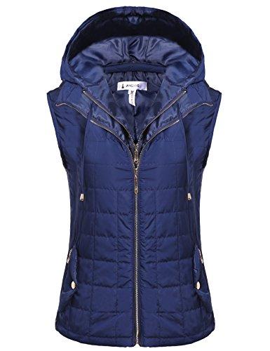 ANGVNS Outwear Lightweight Packable Detachable