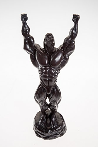 Thai Body Builder FRONT DOUBLE BICEPS Resin Gift Figure Sculpture Souvenir Decor by Generic