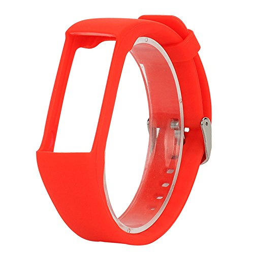 QGHXO Band for Polar A360, Soft Adjustable Silicone Replacement Wrist Watch Band for Polar A360 Watch