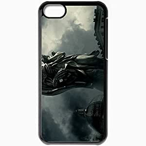 Personalized iPhone 5C Cell phone Case/Cover Skin A Angels and Demons Movie 15895 Black