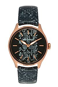 Cacharel Women`s Rose Gold Dial Leather Band Watch [CLD 002/2AA]