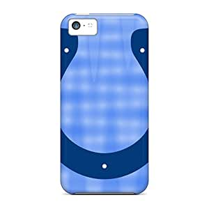 Durable Defender Case For Iphone 5c Tpu Cover(indianapolis Colts)