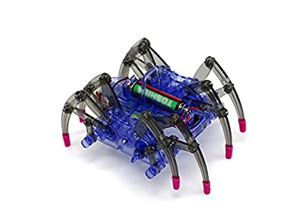 ELSKY Spider Robot Kit,Science Robot Toy, DIY Building Kit/Best Education Kit for Kid Funny
