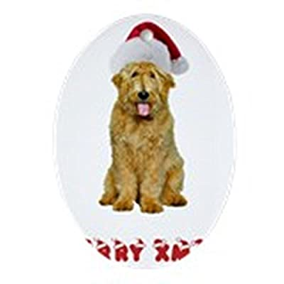 CafePress-Goldendoodle-Christmas-Oval-Holiday-Christmas-Ornament