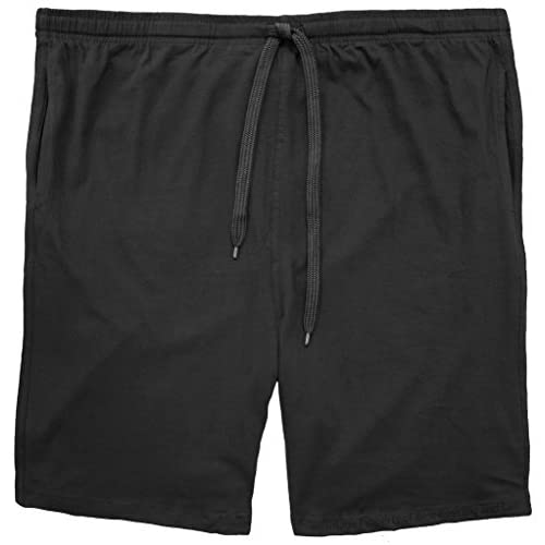 Wholesale Falcon Bay Big Men's 100% Cotton Jersey Shorts w/Outside Drawstring for sale