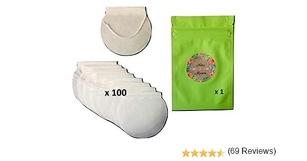 Bolsita de té vacía para Rellenar, Biodegradable, 100 Unidades + 1 ...