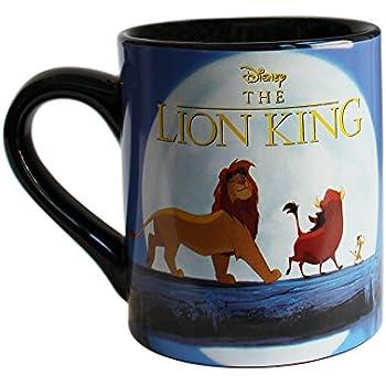 Silver Buffalo LK5132 Disney Lion King Moonlight Ceramic Mug, 14-Ounces
