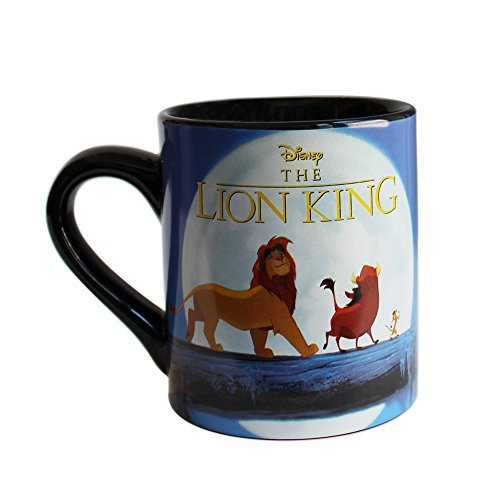 Price comparison product image Silver Buffalo LK5132 Disney Lion King Moonlight Ceramic Mug,  14-Ounces