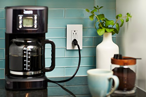 Legrand-Pass & Seymour 1597TRICC4 Self-Test GFCI Receptacle Outlet with Wall Plate, 15Amp 125V, Ivory by Pass & Seymour (Image #4)