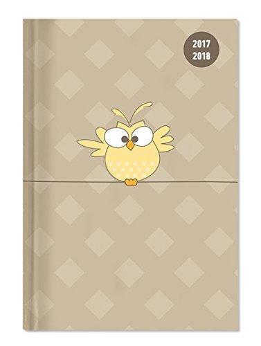 Collegetimer Bird 2017/2018 - Schülerkalender A5 - Day By Day - 352 Seiten