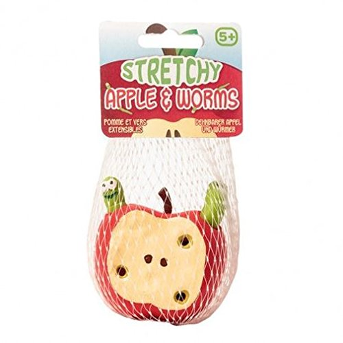 Stretchy Apple & Worms ()
