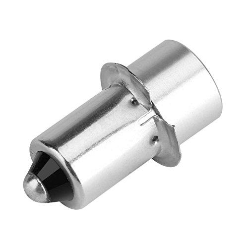 (Hongzer Flashlight Bulb, 1pc P13.5S 3W LED Flashlight Replacement Bulb Torch Lamp Emergency Work Light(White 4~12V))