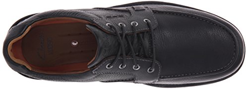 CLARKS Mens Oxford Untilary Mens Leather Black CLARKS Pace rrxHqnBv