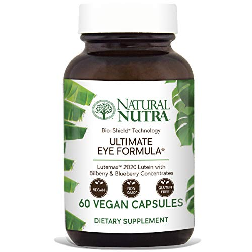 (Natural Nutra Ultimate Eye Formula with Lutein, Blueberry and Bilberry Extract, Macular Degeneration and Night Vision Supplement, 60 Capsules)
