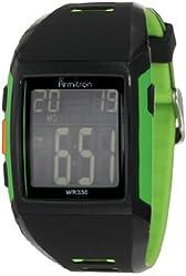 Armitron Sport Men's 40/8261LGN Chronograph Lime Green Digital Watch