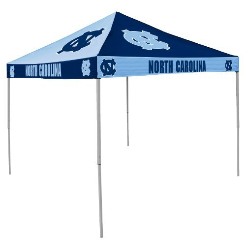 NCAA North Carolina Tar Heels 9-Foot x 9-Foot Pinwheel Tailgating Canopy, Dark Blue/Light Blue by Logo Inc.