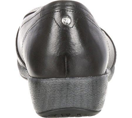 4EurSole Black Leather Pump Soprano 4EurSole Soprano Womens Womens Pump OnxCCTwq