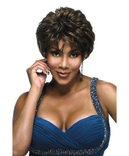 H209-V (Vivica A. Fox) - Human Hair Full Wig in JET BLACK by Fox Designs, Inc.
