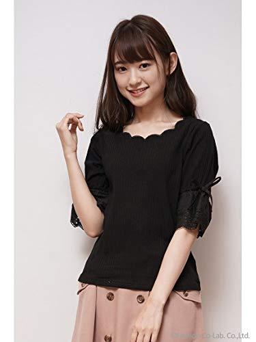 Cherite by PRIMEPATTERN(シェリエットバイプライムパターン) 衿ぐりスカラップ袖口レースPO