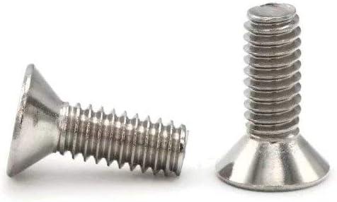 304 Stainless Steel Flat Head Socket Cap Screws 1//4-20 25, 1//4-20 x 2-1//4