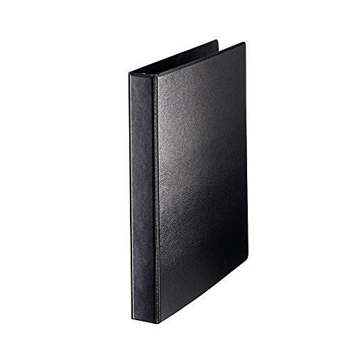 Leitz 46010095 - Carpeta de cartón (Polipropileno (PP), Negro, A4, 200 hojas, 2 cm, 276 mm)