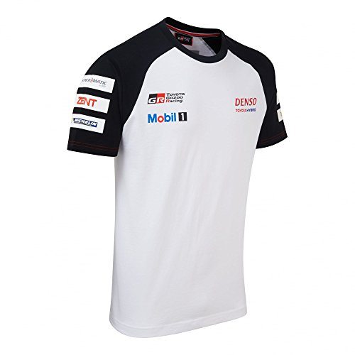 Toyota Gazoo Racing Mens Team T-Shirt XXXL White