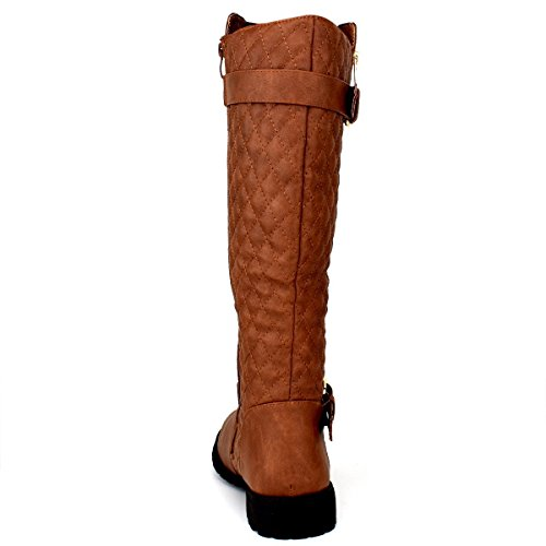 JJF Schuhe für immer Link Mango-21 Lady Boot Tan_b-32