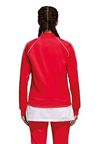 Rosso radiant Red Tt Adidas Giacca Donna Sst nwfIgx8